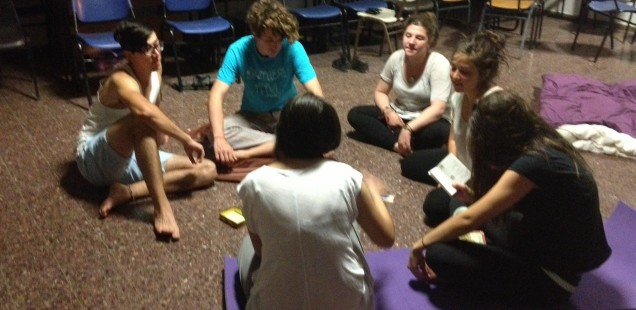 Workshops for teenagers and young adults