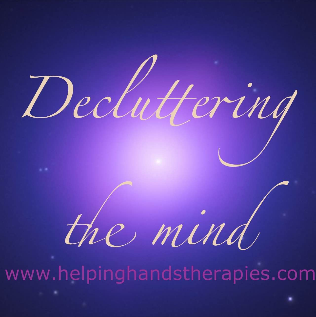 decluttering your mind picture