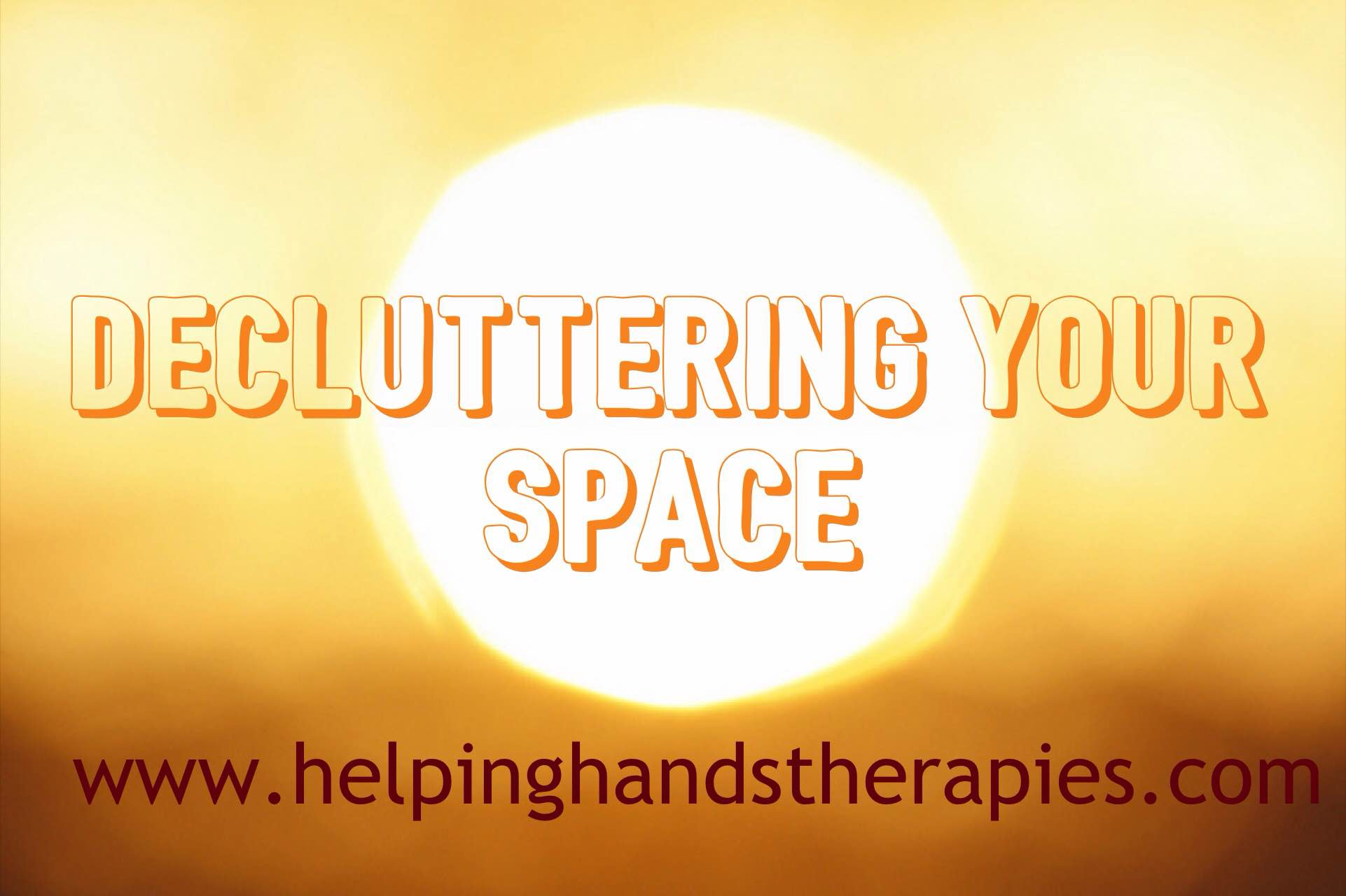 decluttering your space picture