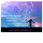 Breath work therapy in London - August 2016